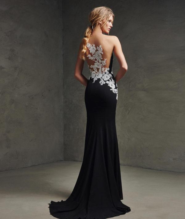 vestidos-de-fiesta-pronovias-laina-negro-trasera