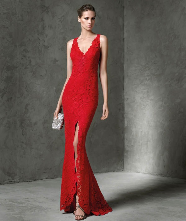 vestidos-de-fiesta-pronovias-layos-rojo