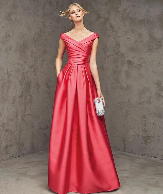 Vestidos De Fiesta Rojos Otoño Invierno 2019 2020