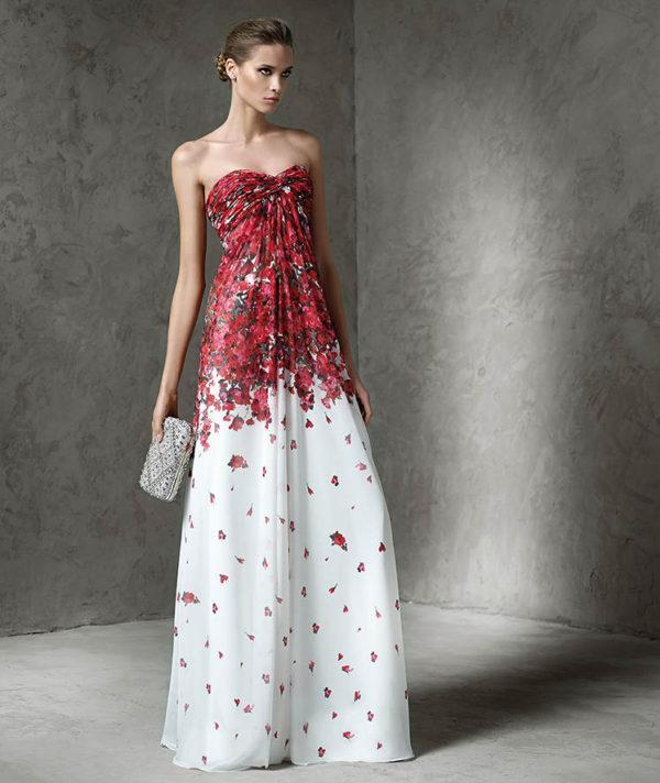 vestidos-de -fiesta-rojos-largos-pronovias-lataya