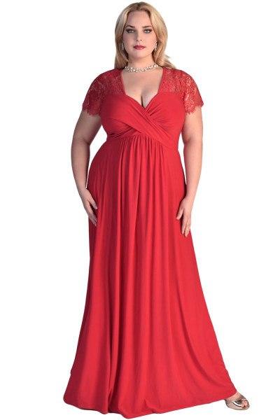 vestidos-de -fiesta-rojos-modaella-largo-tallas-grandes-4