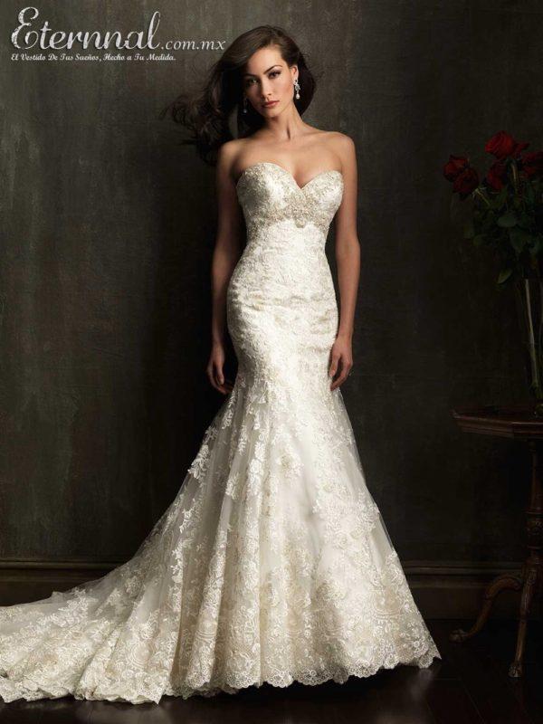 Imagenes de vestidos de novia estilo sirena
