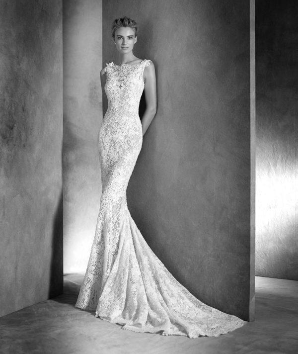 vestidos-de-novia-corte-sirena-pronovias-encaje-ilari