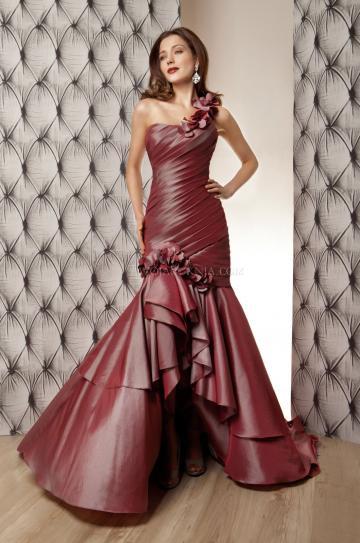 vestidos-de-novia-corte-sirena-tafetan