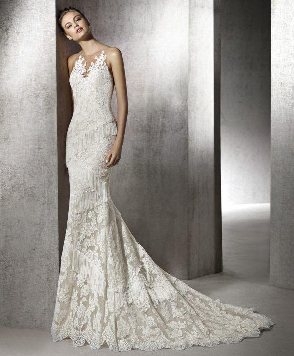 Vestido de novia corte sirena a quien favorece