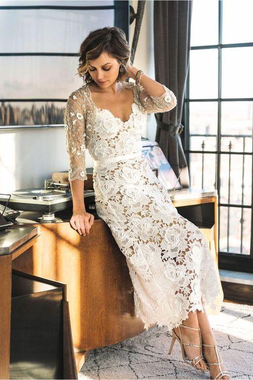 vestidos-de-novia-ibicencos-corto-dos-colores