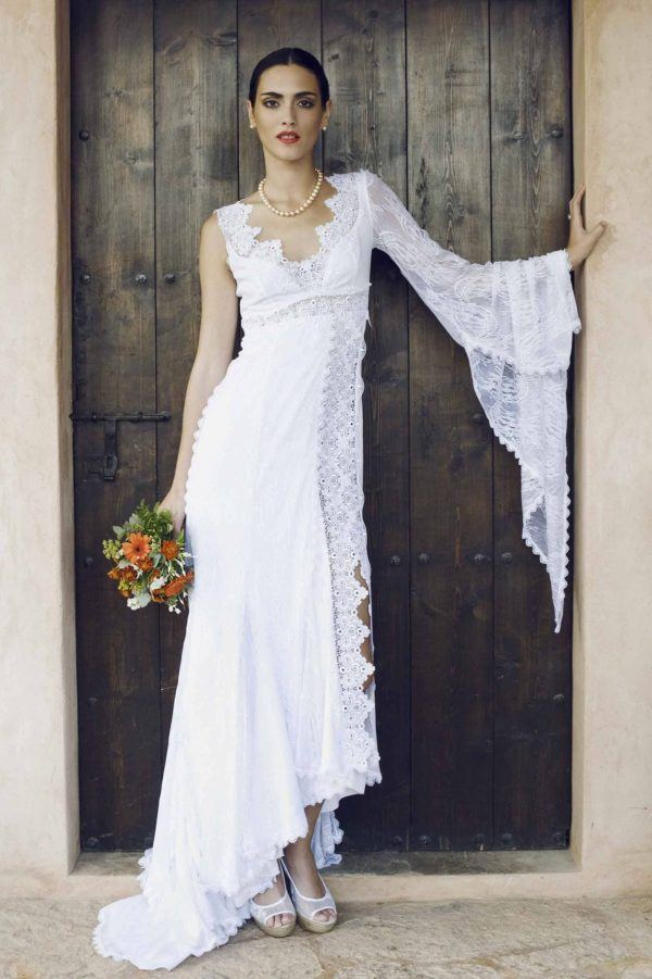 vestidos de novia ibicencos primavera verano 2019 - blogmujeres