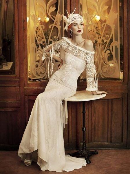 vestidos-de-novia-manga-larga-vintage-años-20