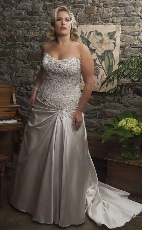 wedding-dresses-for-chubby-jacket-lace-rhinestones