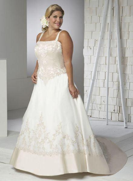 Vestidos con tirantes para novias
