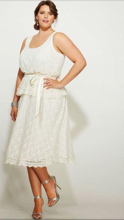 Modelos de vestidos para gorditas xxl