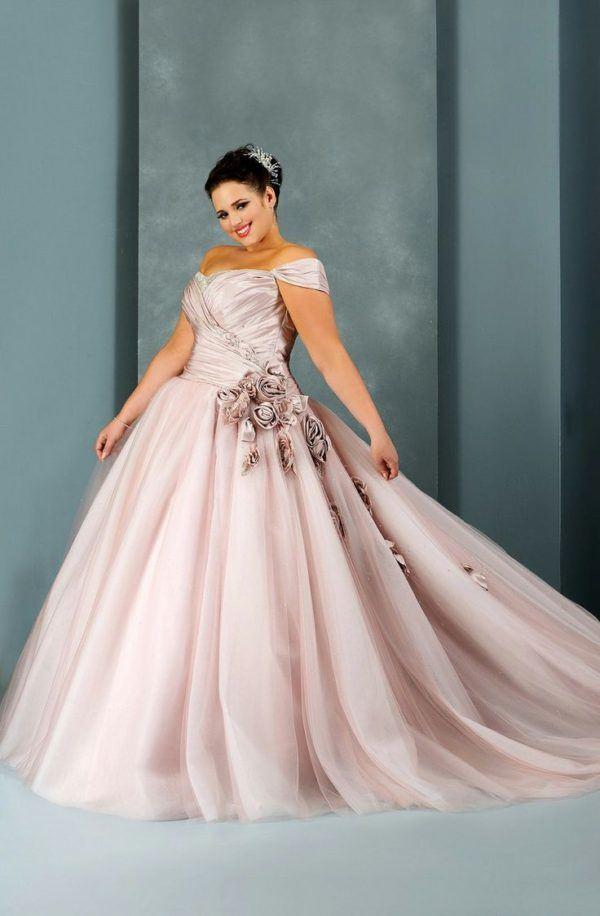 vestidos-de-novia-para-gorditas-princesa-rosa