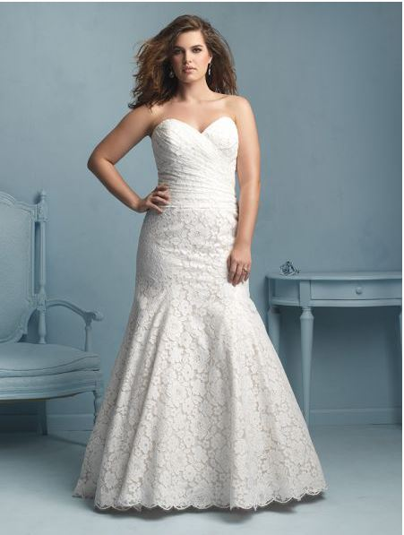 wedding-dresses-for-chubby-type-mermaid