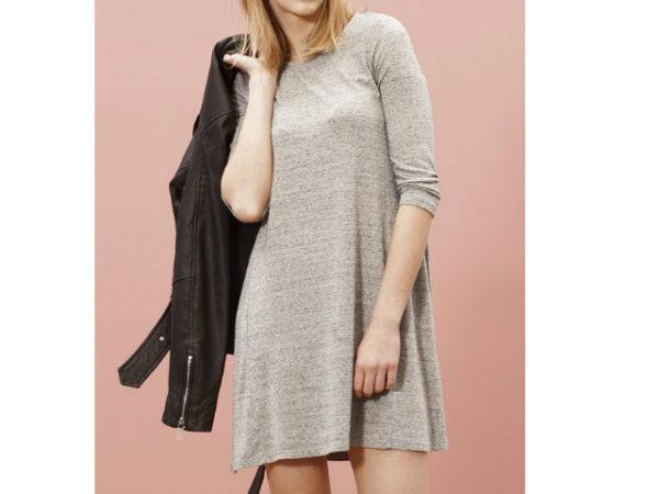 catálogo-stradivarius-vestidos-gris