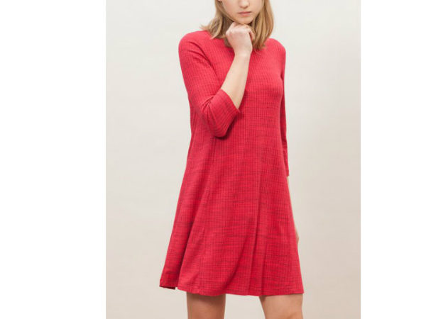 catálogo-stradivarius-vestidos-rojo