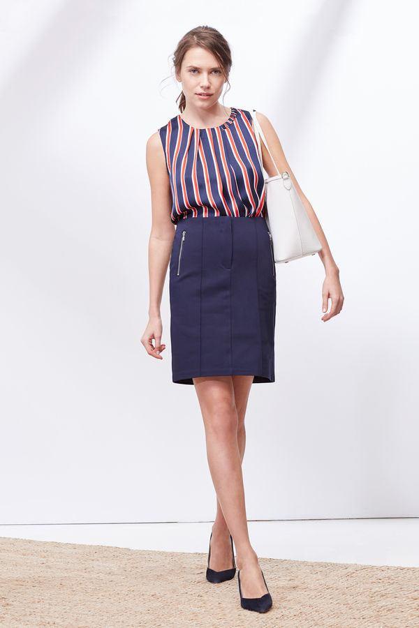 para las amantes de las faldas largas cortefiel cuenta con un par de  modelos en su 02dc7ac8cf0c