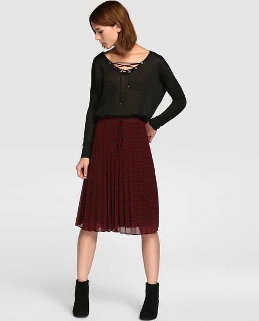 tintoretto-otono-invierno-2017-falda-plisada