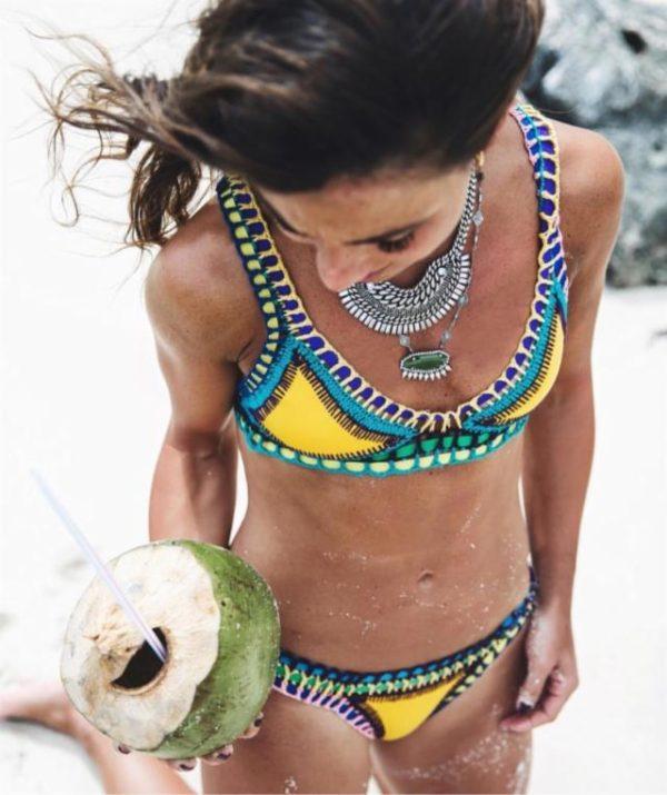 bikinis-neopreno-2016-crochet-amarillo