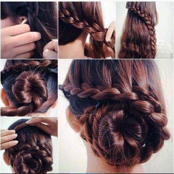 Peinados con trenzas para hacerse sola