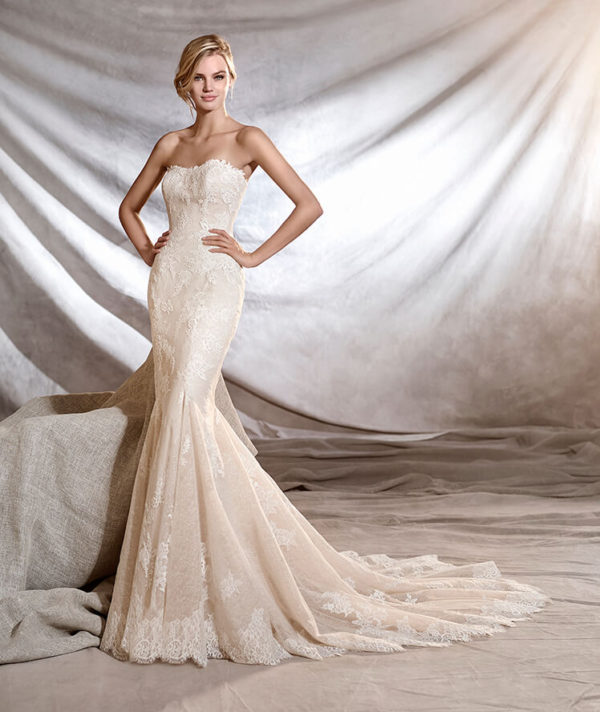 Vestidos de novia temporada de invierno