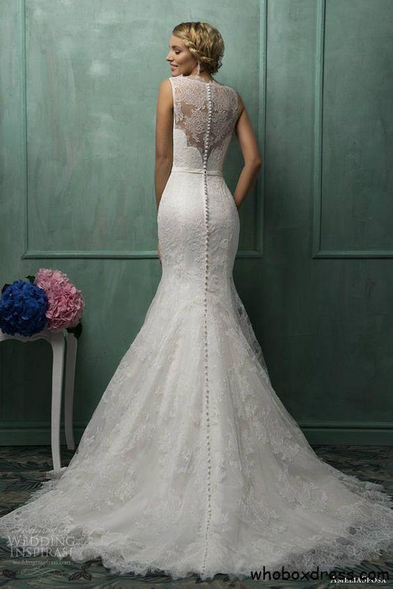 Vestidos de novia tipo sirena