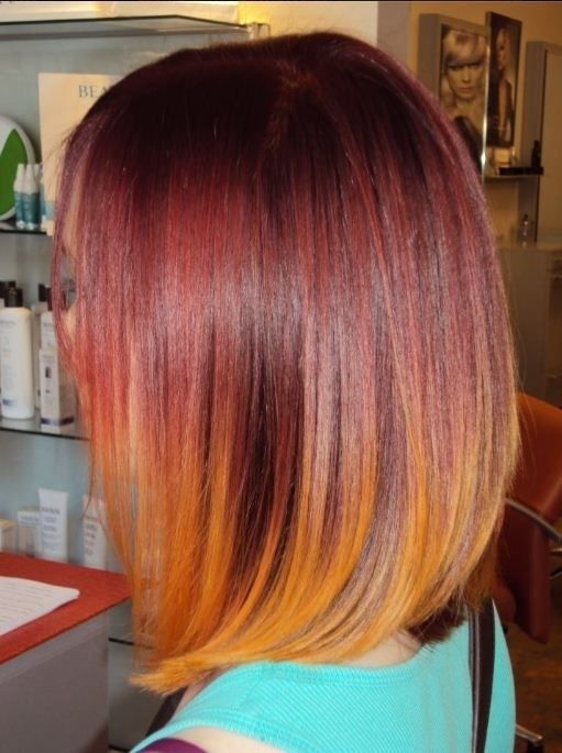 cortes-de-pelo-long-bob-color-atardecer