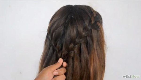 peinados faciles pelo largo trenza cascada 8 - Trenzas Pelo Largo