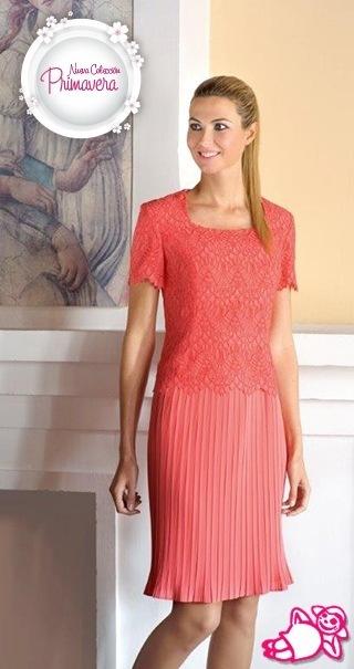 vestidos-de-comunion-para-madres-talla-grande-plisado