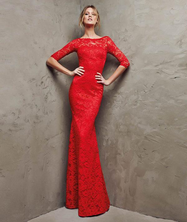 0a0ec3a76 Vestidos de Fiesta Rojos Primavera Verano 2019 - Blogmujeres.com