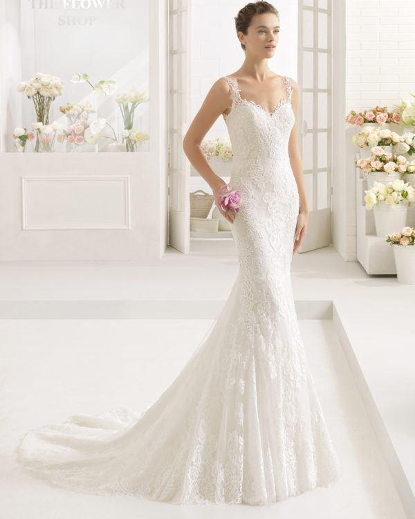 Modelos de vestidos de novia corte sirena