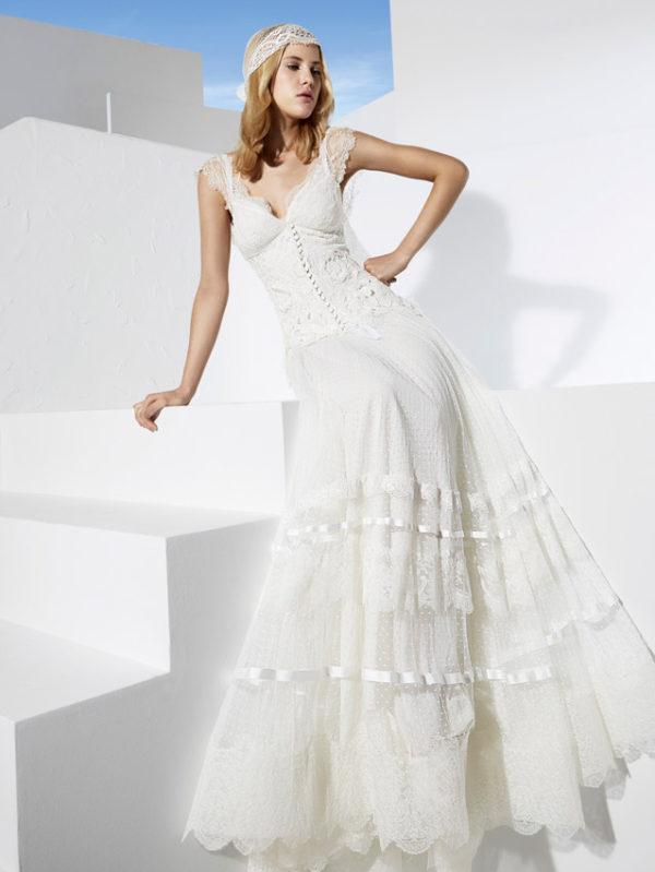 Vestidos novia boho chic madrid