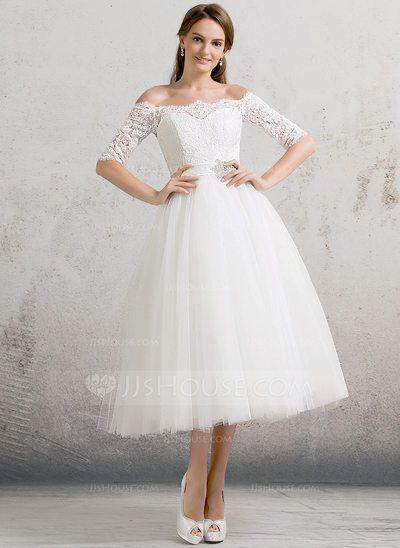 vestidos-de-novia-para-boda-civil-princesa-tul