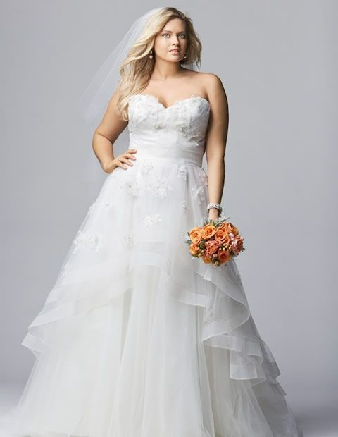 wedding-dresses-for-chubby-autumn-winter-2017-layers-tulle