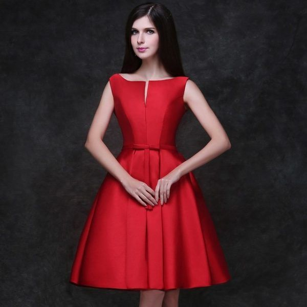 308f588f59b47 Vestidos de Fiesta Rojos Primavera Verano 2019 - Blogmujeres.com