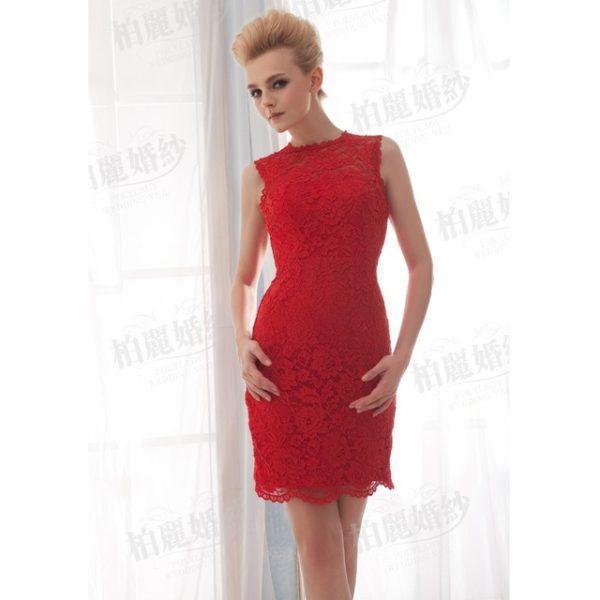 vestidos-rojos-fiesta-otono-rojo-corto-saten