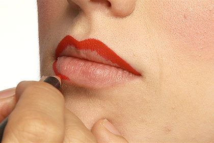 maquillaje-pin-up-labios