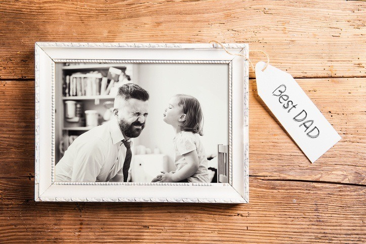 Regalos para el dia del padre hechos a mano marco de fotos