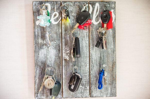 Regalos para el dia del padre hechos a mano tablero para colgar llaves