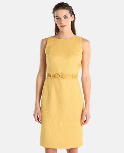 los-vestidos-de-comunion-para-madres-vestido-amarillo-jacquard-roberto-verino-2018-elcorteingles