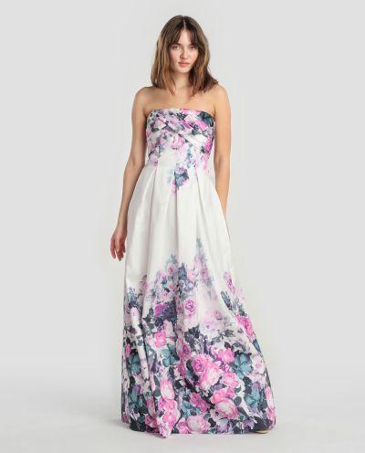 los-vestidos-de-comunion-para-madres-vestido-estampado-de-flores-2018-elcorteingles