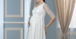 Vestidos para novias embarazadas Verano 2018