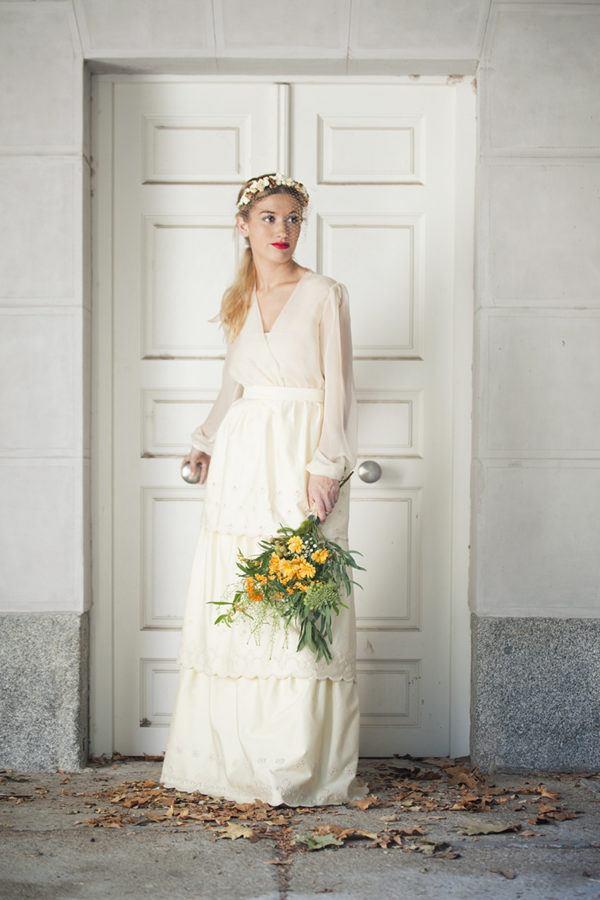 vestidos de novia vintage primavera verano 2019 - blogmujeres