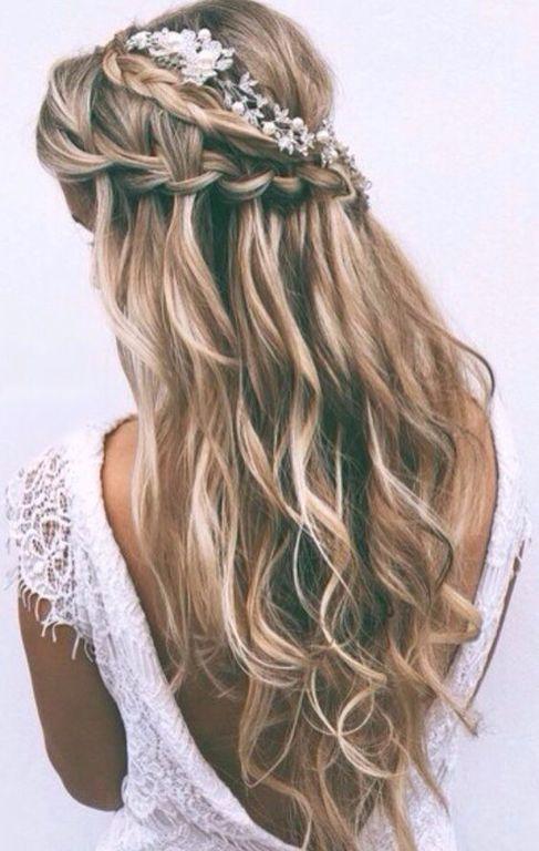 Peinados Para Confirmacion Pelo Suelto Ideas De Peinado