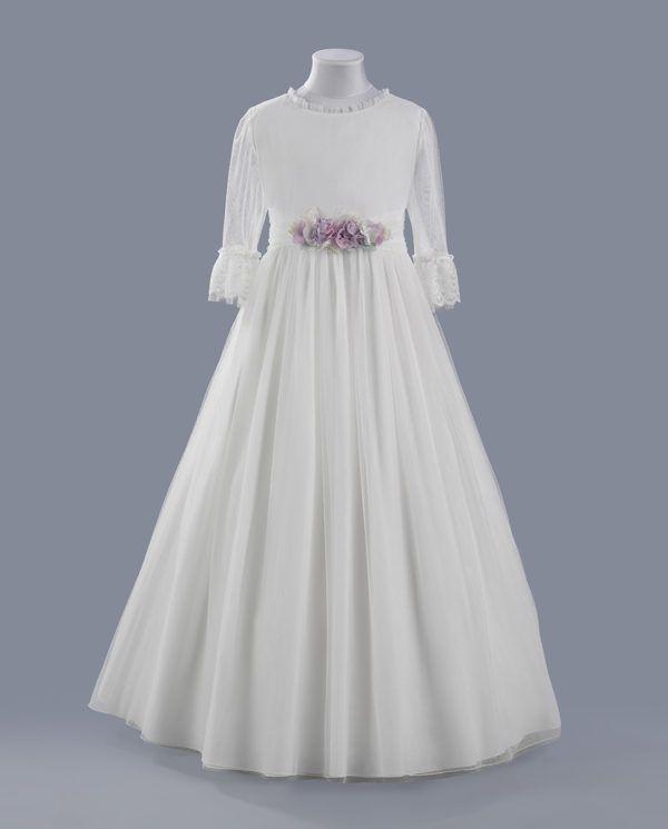 vestidos de primera comunion para ninas gorditas