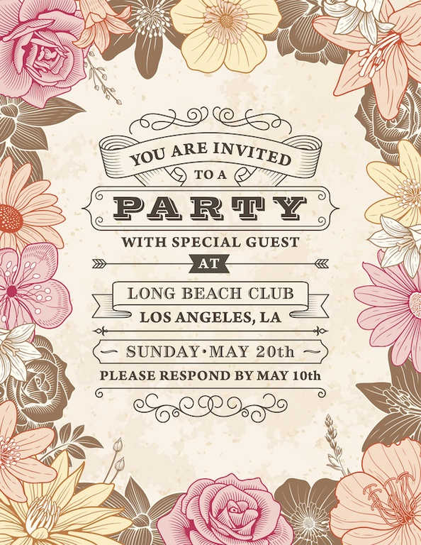 invitaciones-de-boda-vintage