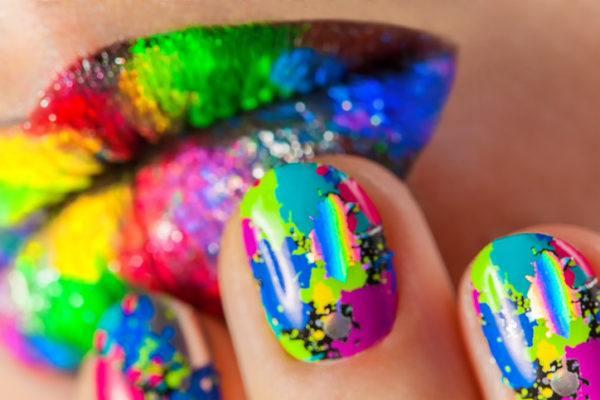 Unas carnaval bonitas de colores
