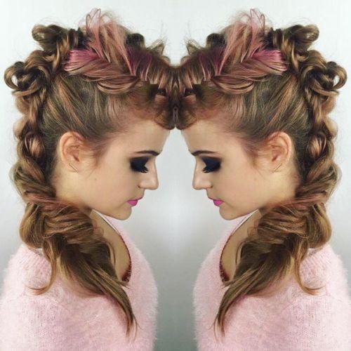 peinados-de-fiestas-trenza-sencilla-de-lado3
