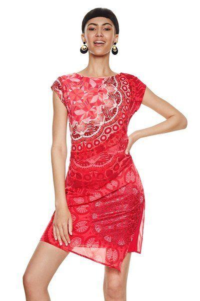 Modelos de vestidos de fiesta cortos con encaje