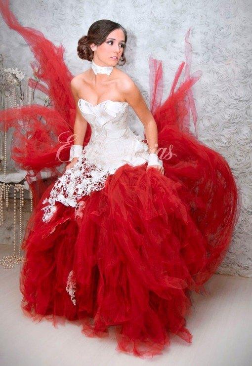 50 fotos con vestidos de novia diferentes primavera verano 2019