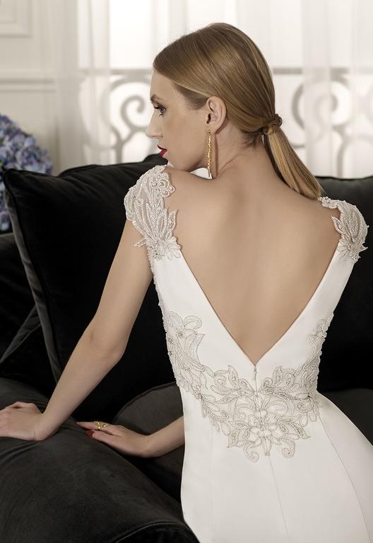 Vestido de novia el corte ingles